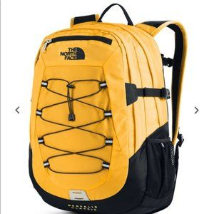 The North Face Borealis Backpack Yellow Black